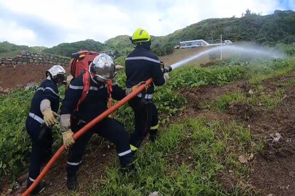 Exercice incendie Raiatea