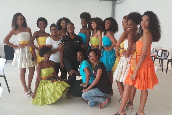 Les Candidates de Miss Guadeloupe 2018