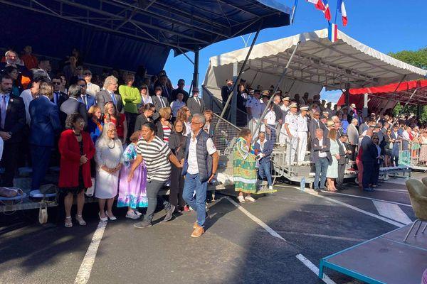 Le public au rendez-vous de ce défilé du 14 juillet