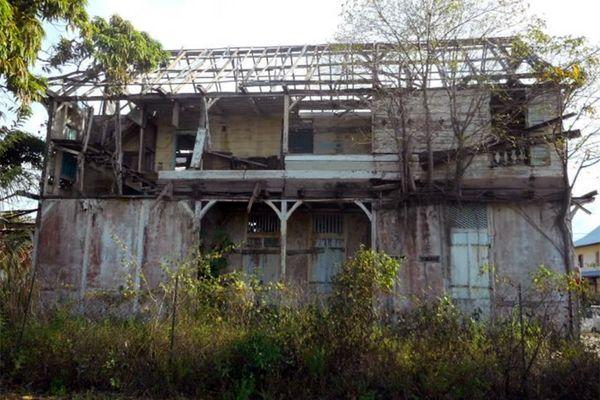Ancienne maternité de Mana
