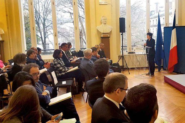 La ministre des Outremer Annick Girardin a lancé les travaux