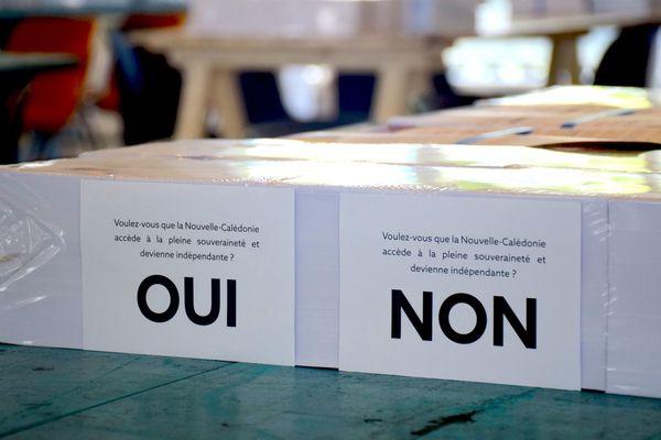 Référendum, bulletins, 18 octobre 2018