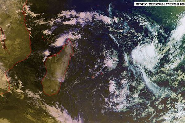 Image satellite 28 mars 2018