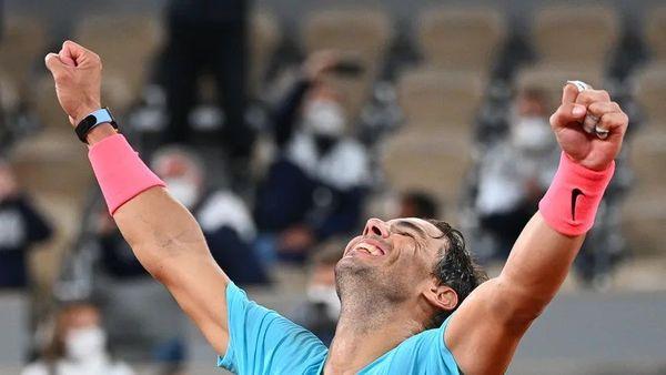L'Espagnol Rafael Nadal.