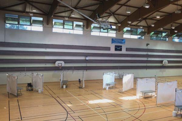 Centre ambulatoire dédié Covid-19 à Saint-Joseph
