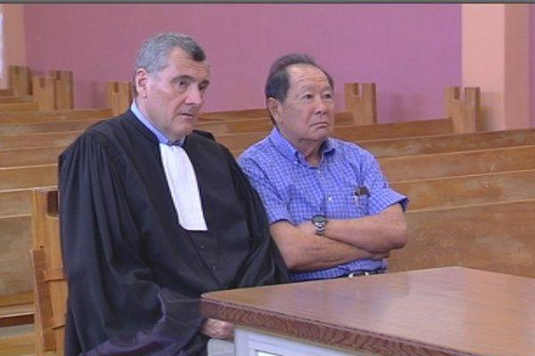 Robert Wan et son avocat