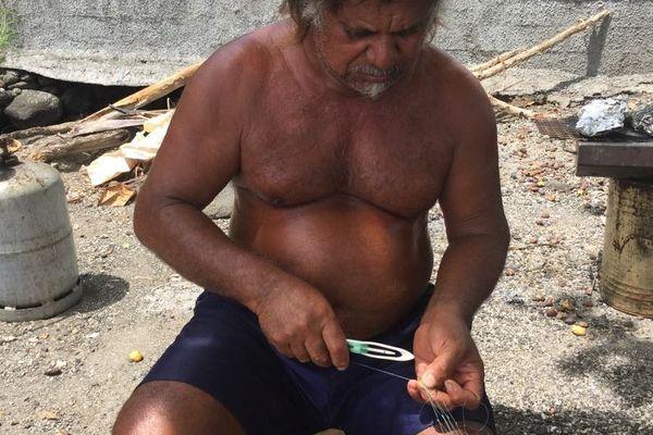 Fernand Ateo / filet de pêche