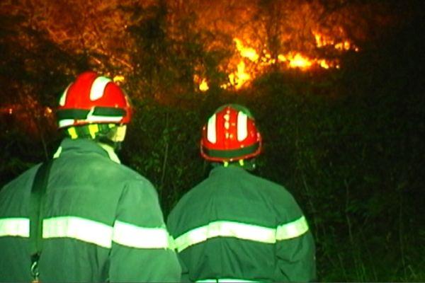 Incendie Bellefontaine