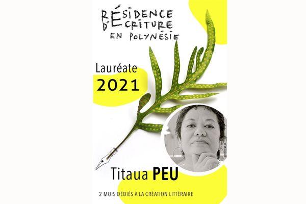 Titaua Peu : lauréate de la première résidence d'écriture en Polynésie française