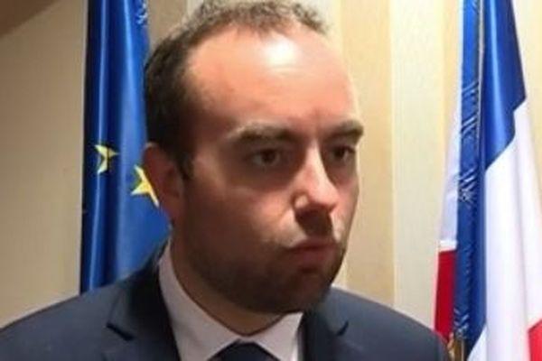 Sébastien Lecornu secrétaire d'Etat à la Transition écologique et solidaire