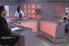 Le préfet, invité de Politik Péi, de l'émission présentée par Corinne Jean joseph et Jean-Marc Party.