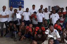 Dans les coulisses d'un échange entre le club de boxe du Port et Tamatave.