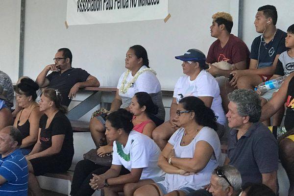 Rassemblement de l'association Te fatu fenua no Makatea