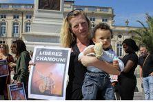Delphine Soudjay réclame la libération de son mari