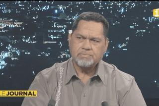 Cyril Tetuanui, invité du journal de Polynésie 1ère - 21 06 2015