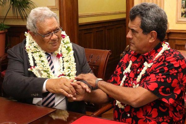 Le ministre de la Santé des îles Cook en visite au fenua