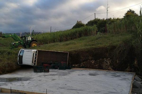 accident de la route sortie de route mortelle Bras-Panon chemin de l'Eden 100621