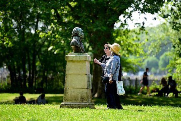 Buste de Toussaint Louverture à Bordeaux