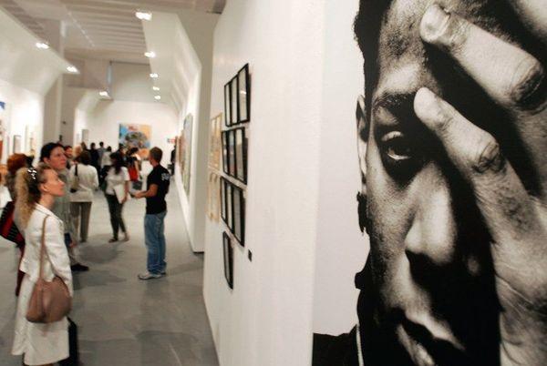 Expo Basquiat à Milan en 2006