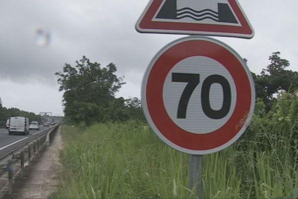 70km/h sur le pont d el'Alliance