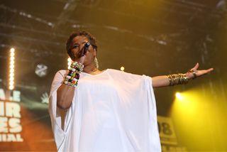 Jocelyne Beroard, la chanteuse de Kassav