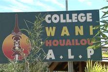 Logo du collège de Wani, à Houaïlou.