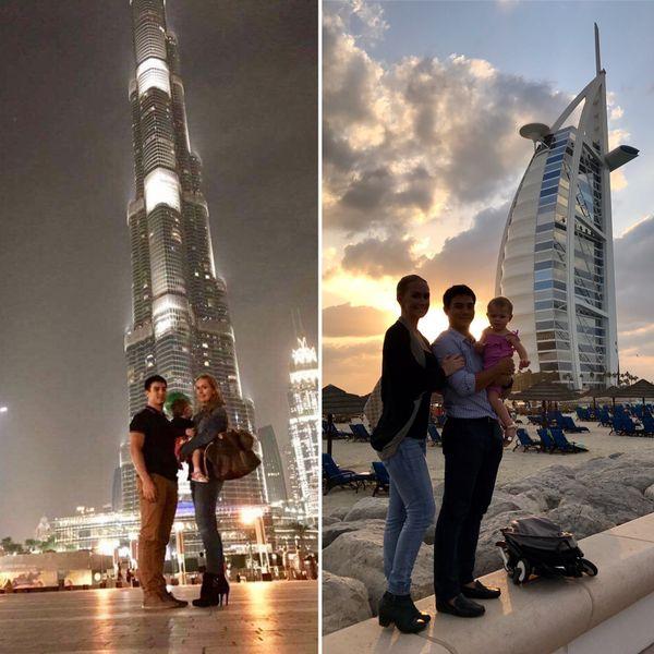 Le Nouméen vit avec sa femme Sarah, et sa fille Hanaé à Dubaï