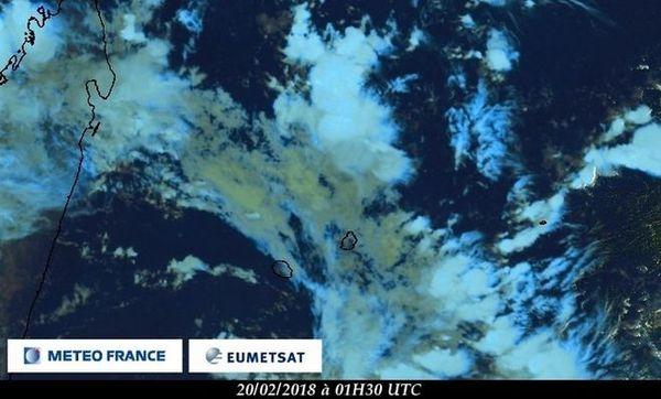 Image satellite du 20 février 2018