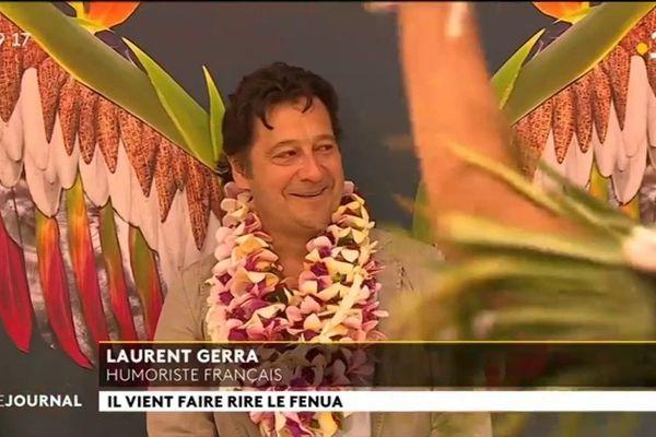 Laurent Gerra à To'ata vendredi