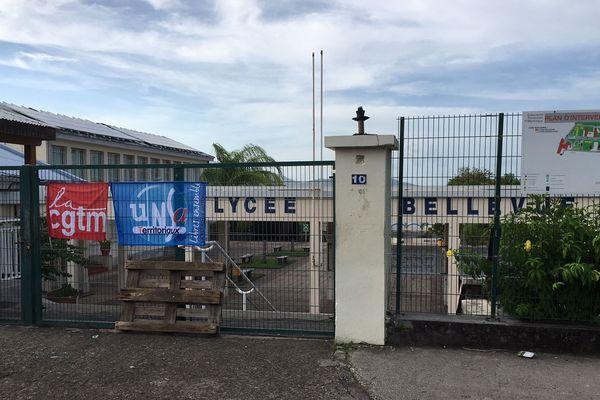 Lycée Bellevue bloqué