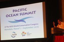 Edouard Fritch au congrès de l'IUCN