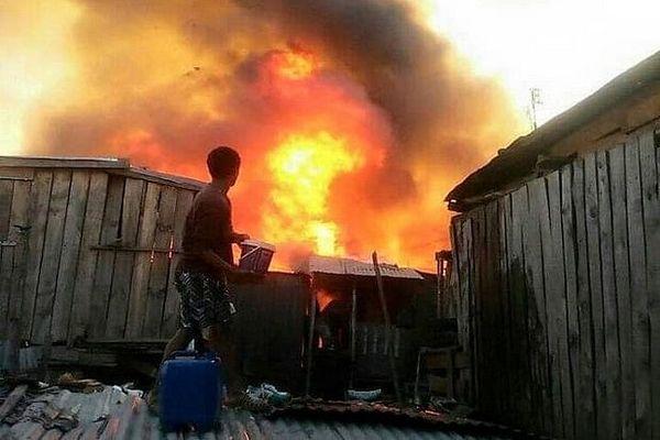 Incendie à Tana 67 ha 24 juin 2020
