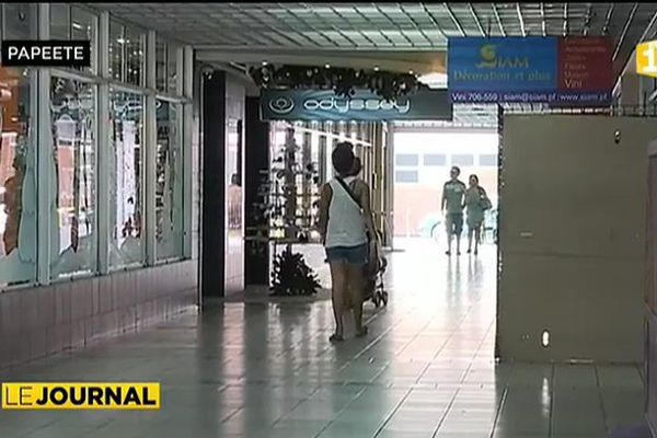 Papeete, ville morte