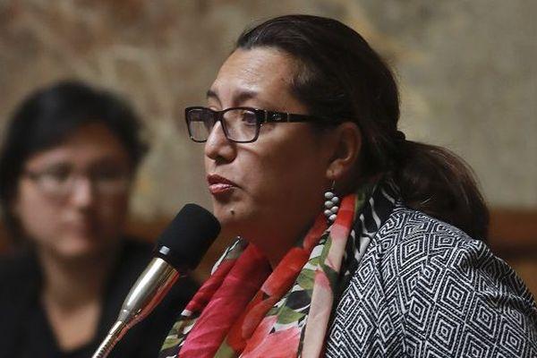 Maïna Sage à l'Assemblée Nationale (juillet 2017).