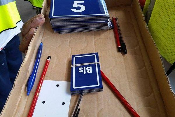 plaques numérotation Papeete
