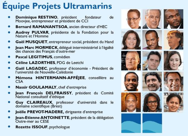 equipe projets ultramarins Assises des Outre-mer