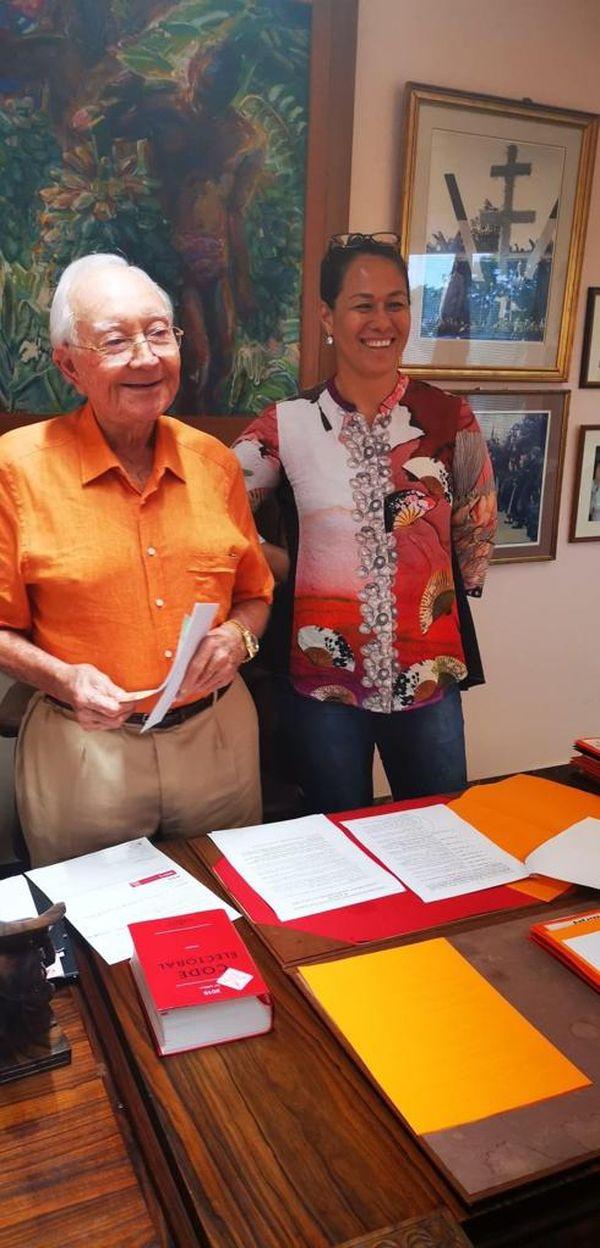 Les 90 ans de Gaston Flosse, une histoire de famille