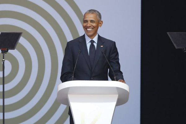 Barack Obama Mandela day
