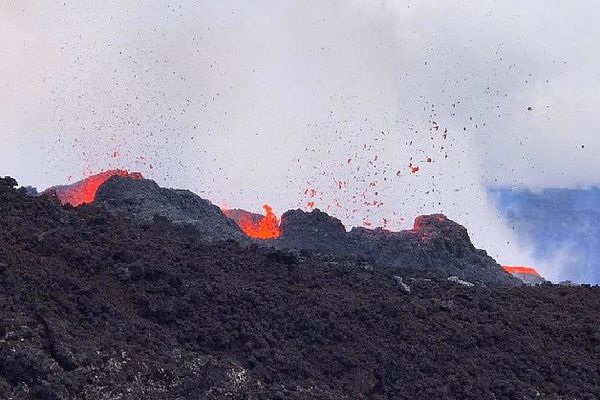 Piton de la Fournaise éruption février 2020