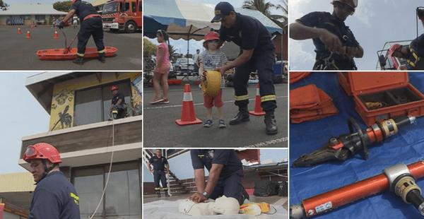 journées sécurité pompiers faa'a