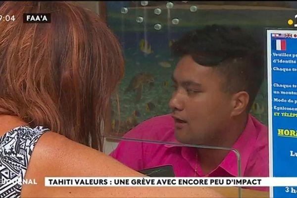 La grève chez « Tahiti valeurs » se poursuit