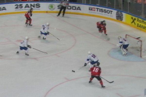 Hockey : France Canada