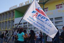 Grève des employés communaux la suite à Saint-Louis