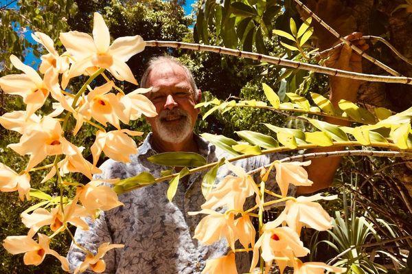 Bob Stirrup, orchidophiliste, janvier 2020