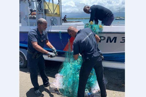 Pêches illicites en zone chlordécone