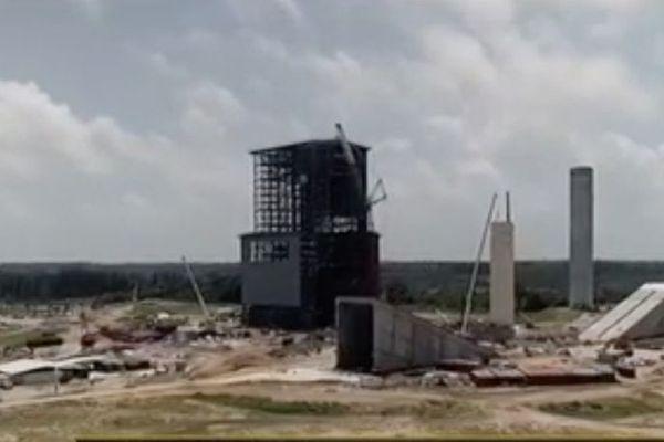 Espace : le pas de tir d'Ariane 6 avance