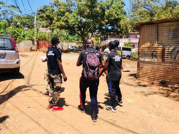 Les ambassadeurs de paix à Kawéni