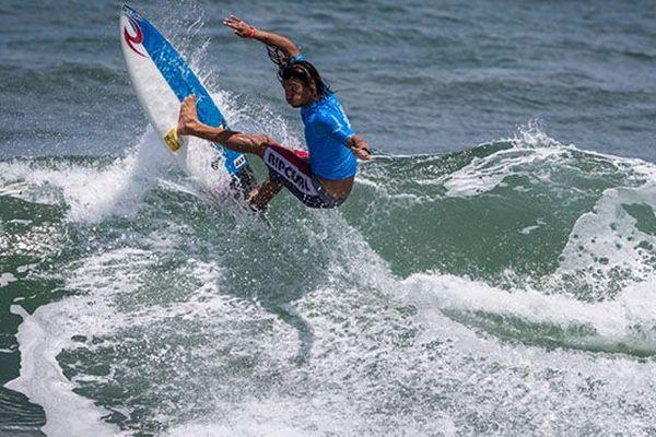 Surf : reprise de la compétition
