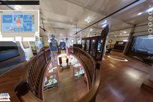 Visite virtuelle au musée de la Ville de Nouméa.