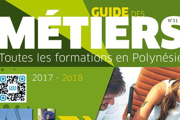 La 11è édition du Guide des métiers  en Polynésie vient de paraître